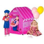 GigaTent My First Bakery Play Tent, Pink