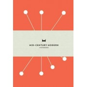 Mid-Century Modern: Set of 3 Notebooks by Design Here