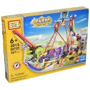 Corsair Electrical Amusement Park Ship 230pcs, Height 13.7 in, Corsair Design Electric Toy Assembly Building Block, Compare to Knex Building Toys, Educational Building, Motor and Gears Set