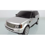 Silver Land Rover Range Rover Suv Electric Rc Truck 1:24 Scale Authentic Body Styling(Silver)