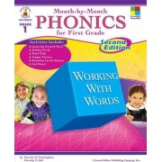 Month-By-Month Phonics for First Grade by Patricia M Cunningham