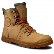 Trappers PALLADIUM - Pallabrouse Hikr Lp 95140278M Amber Gold/Red/Gum