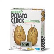FreshGadgetz Great Gizmos Kidz Labs - Green Science Potato Clock