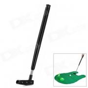 Aseo creativo Jugar Flocado tela + ABS Golf Toy Kit - Verde