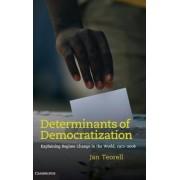Determinants of Democratization by Jan Teorell
