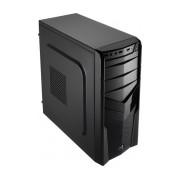 Gabinete Aerocool V2X Black Edition, Midi-Tower, ATX/micro-ATX/mini-ATX, USB 2.0, sin Fuente, Negro