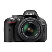 Nikon D5200 24.1MP Digital SLR Camera (Black) with AF-S 18-55 mm VR II Kit Lens + Camera Bag + Free SD Card