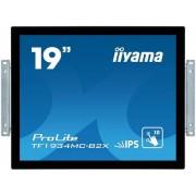 """Monitor IPS LED iiyama 19"""" TF1934MC-B2X, 1280 x 1024, Touch, VGA, DVI, USB, 14 ms (Negru)"""