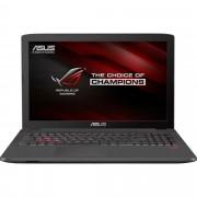 "Notebook Asus GL752VW, 17.3"" Full HD, Intel Core i7-6700HQ, GTX 960M-4GB, RAM 8GB, HDD 1TB, FreeDOS, Gri"