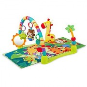 Bright Starts Activity Gym Playmat Jungle Discovery