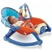 The Flyer's Bay Newborn To Toddler Portable Rocker