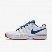 NikeCourt Zoom Vapor 9.5 Tour Blanco,Platino puro,Rojo acción,Arrendajo azul