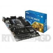 MSI B150 PC MATE - Raty 30 x 13,30 zł - dostępne w sklepach