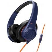 Casti cu Microfon Audio-Technica ATH-AX3iSNV (Albastru)