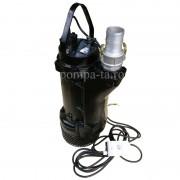 Pompă submersibilă trifazată industrială pentru apă murdară, nămol IBO 80-KBFU-3,7 (380V)
