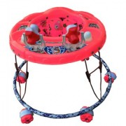 Oh Baby Baby Round Shape 2 Big Rattle Red Color Walker For Your Kids SE-W-56