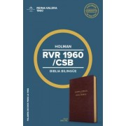 Rvr 1960/CSB Biblia Bilingue, Borgona Imitacion Piel: CSB/Rvr 1960 Bilingual Bible, Burgundy Imitation Leather