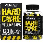 HardCore Yellow Caps - Hardcore - 120 cáps - Atlhetica