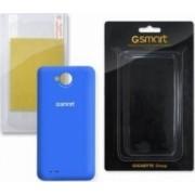 Skin Gigabyte Various GSmart Rio R1 Albastra cu folie ecran