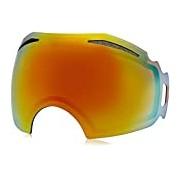 Oakley Airbrake Replacement Lens Screen Ski Masks, unisex, Airbrake, Fire Iridium, One Size