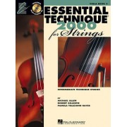 Essential Technique for Strings (Essential Elements Book 3) by Professor of Music Robert Gillespie