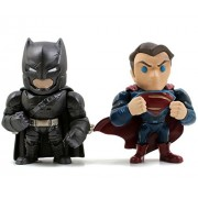 Jada - Figurine Batman Vs Superman - Pack Armored Batman & Superman 10Cm