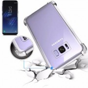Samsung Housse Silicone Ultra Slim Transparente avec Renfort pour Samsung Galaxy S8 Plus