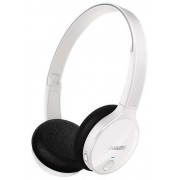 Casti Stereo Philips SHB4000WT, Bluetooth (Alb)