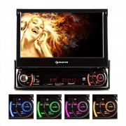 Auna MVD-240 Autorrádio DVD MP3 USB SD AUX 7'' Ecrã Touch Bluetooth