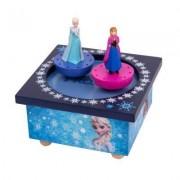 Boite À Musique Magnétique La Reine Des Neiges (Frozen) : Elsa Et Anna