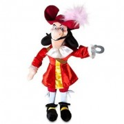 """Disney Store Disney Junior Jr. Jake and The Never Land/Neverland Pirates 20"""" Captain Hook Plush Ragdoll Stuffed Doll Toy Gift by Disney Store"""