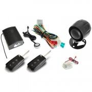 Alarma auto KeeTec TS 10 cu 2 Telecomenzi cu lamela briceag RC Key