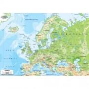 Harta fizica a Europei 5250