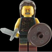 Lego Figurines À Collectionner: Scottish Highland Battler Mini-Figurine (Série 6)