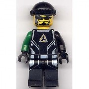 Lego Alpha Team Minifigure: Diamond (Arctic Team)