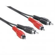 Audio Kabl 2x činč (muški) - 2x činč (muški), 1.5m, HAMA 43316