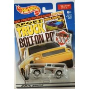 2000 Mattel Hot Wheels Editors Choice Series 1 Sport Truck Mag 1956 Chevy Flashsider Pick Up Silver Custom Paint 1:64 Scale Die Cast Metal Out Of Production Mint New