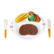Hape Beleduc E3141 Pranzo Prelibato Hearty Home Cooked Meal Legno Prima Infanzia