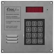 Kaputelefon, társasházi audio EVKT 212/ 96 96 lakásos központ
