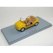 SPARK 1/43 Fiat 500 Jolly yellow 61 (japan import)
