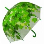 Deštník dámský vystřelovací podzim zelený 9160-3 9160-3