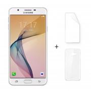 "Samsung Galaxy On7 (2016) 3 + 32GB G6100 Dual Sim Android 6.0 5.5 ""FHD 8 + 13MP Oro + Protector De Pantalla + Estuche"