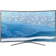 Televizor Samsung LED Smart TV Curbat UE55 KU6172 Ultra HD 4K 139cm Silver