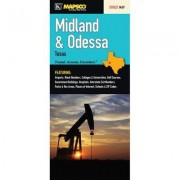 Universal Map Midland/Odessa Texas Fold Map 15789