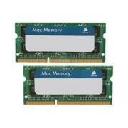 Corsair Corsair DDR3 1333MHZ 8GB 2X204 SODIMM CMSA8GX3M2A1333C9