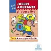 Jocuri amuzante si educative pentru prescolari - 4-6 ani - roz