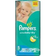 Scutece Pampers Active Baby 5 Junior Value Pack 50 buc