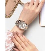 Michael Kors MK5735 Lexington Bracelet Watch In Mixed Metal - Silver