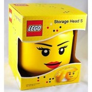 Lego Small Storage Head Container Girl
