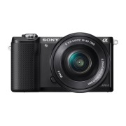 Фотоаппарат Sony Alpha ILCE-5000LB, черная
